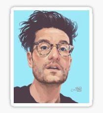 Dan Smith Painting Sticker