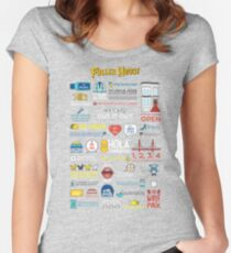 Fuller House Quotes Women's Fitted Scoop T-Shirt