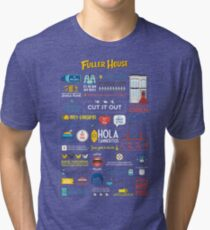 Fuller House Quotes Tri-blend T-Shirt