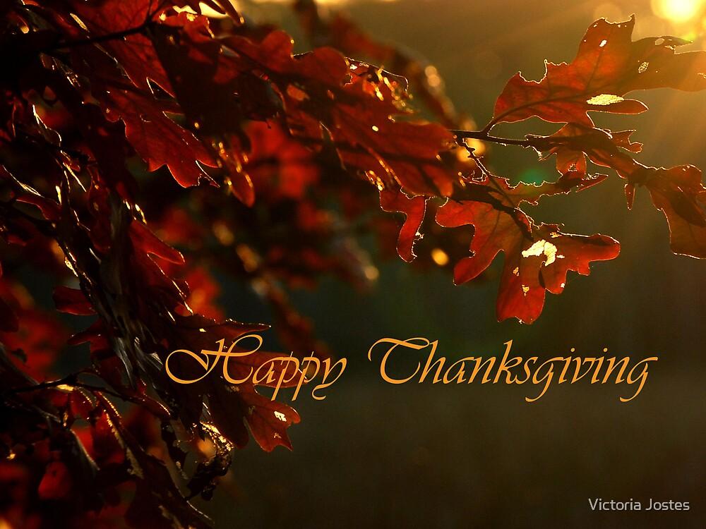 Happy Thanksgiving by Victoria Jostes