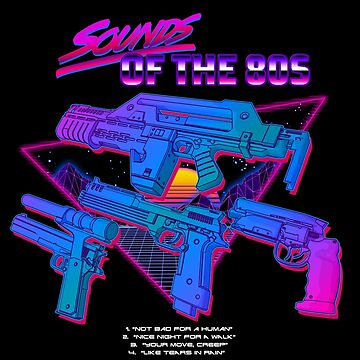 Sounds of the 80s by CCCDesign