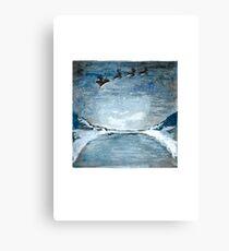 sleigh  Canvas Print