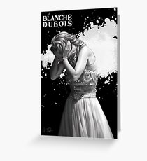 Blanche Dubois n°8  Greeting Card