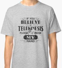 Telekinesis - Geek, nerd shirt - Peter Parker Shirt, Spiderman Homecoming Shirt Classic T-Shirt