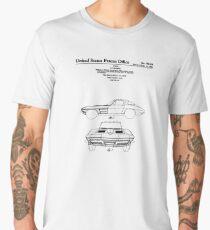 Corvette Stingray Patent Print Men's Premium T-Shirt