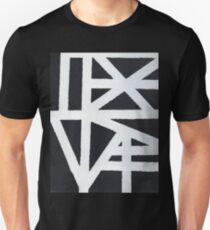 Abstract Black And White Design Unisex T-Shirt