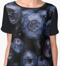 Blueberries Women's Chiffon Top