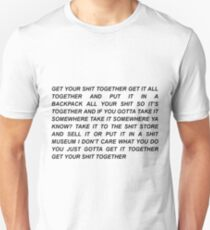 Get Your Shit Together Rick and Morty Unisex T-Shirt