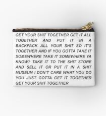 Get Your Shit Together Rick and Morty Studio Pouch