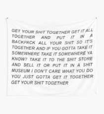 Get Your Shit Together Rick and Morty Wall Tapestry