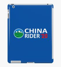 China Rider '20 iPad Case/Skin