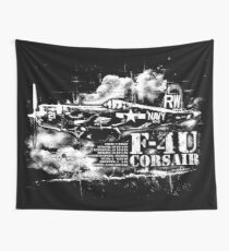 F4U CORSAIR Wall Tapestry