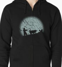 The Hound Zipped Hoodie