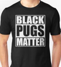 Schwarze Mops-Angelegenheit Schwarze Mops-Liebhaber Slim Fit T-Shirt