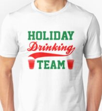 Holiday Drinking Team Unisex T-Shirt