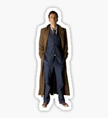 TENTH DOCTOR DAVID TENNANT  Sticker