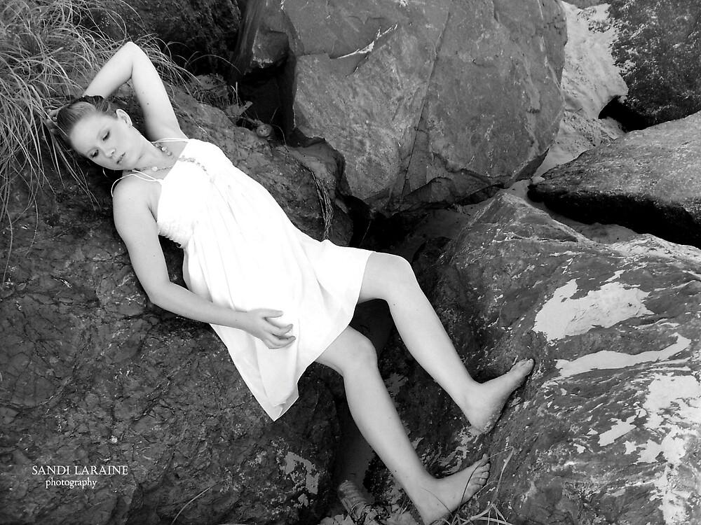 Summer Breeze bw by Sandi Laraine