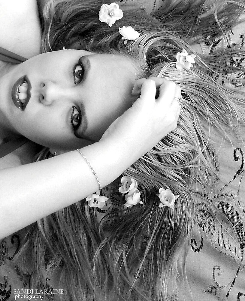 White Ophelia by Sandi Laraine