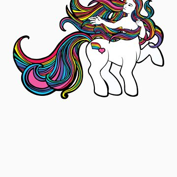 My Little Centaur (rainbow) by jaytbuchanan