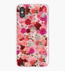 Pink Floral pattern iPhone Case/Skin