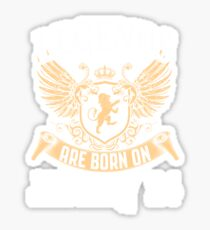 Kings Legends Are Born On January 24 Sticker