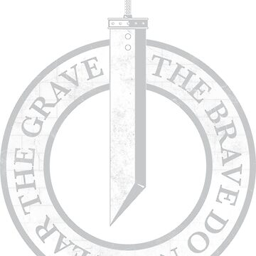 FFVII - The Brave Do Not Fear The Grave (Meteor Black Alt.) by JRPomazon