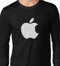 Apple Steve Jobs Logo T-Shirt Long Sleeve T-Shirt