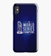 Houston Astros Champions 2017 iPhone Case/Skin
