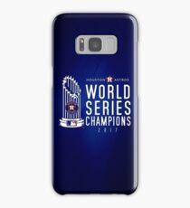 Houston Astros Champions 2017 Samsung Galaxy Case/Skin