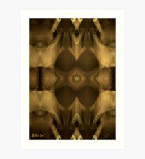 Temple of Hooves Art Print