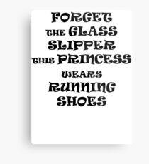 This Princess Wears Running Shoes Metal Print