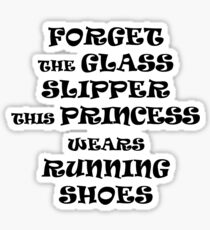 This Princess Wears Running Shoes Sticker