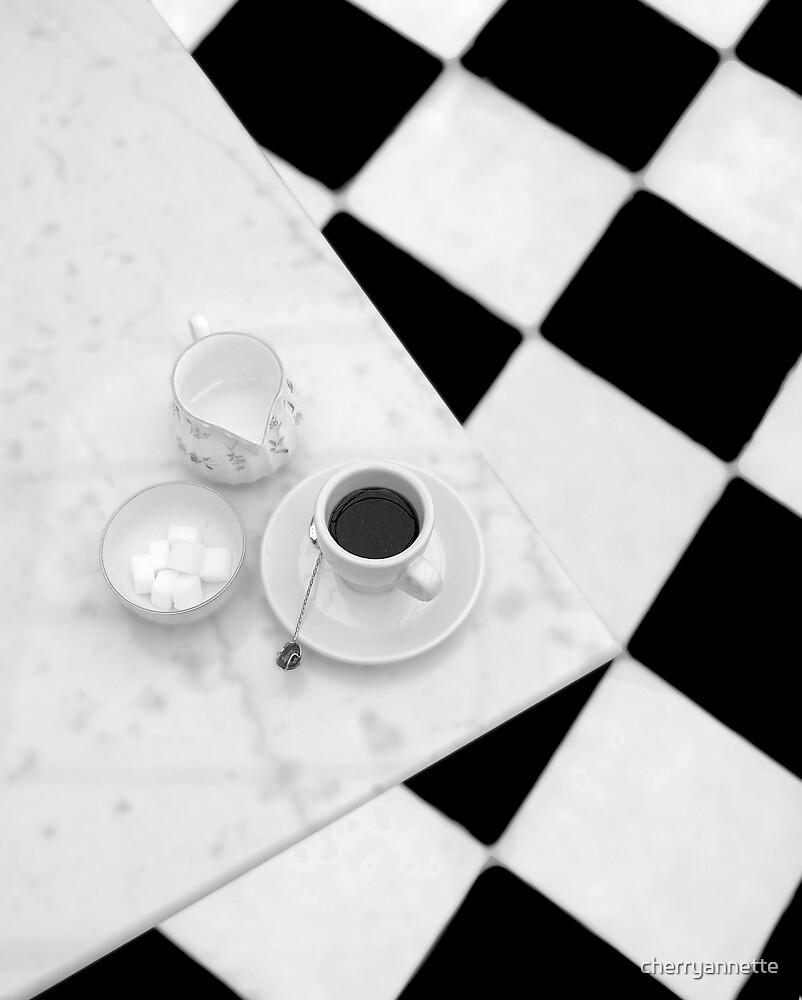 Cafe au lait by cherryannette