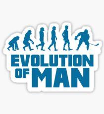 ICE HOCKEY: EVOLUTION OF MAN Sticker