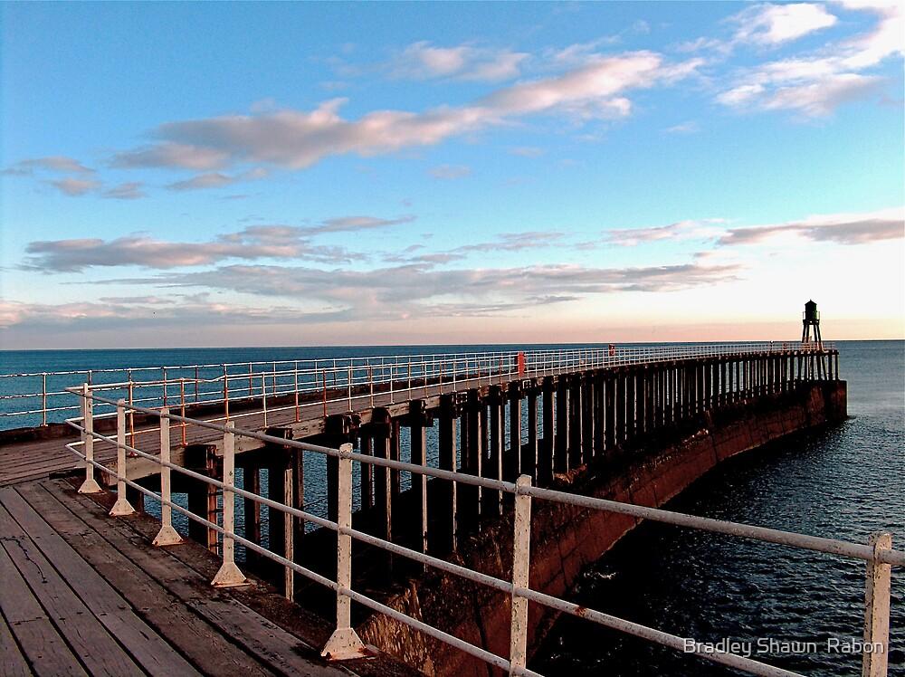"""""""Walk along the West Pier"""" by Bradley Shawn  Rabon"""