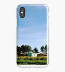 Par Beach huts - Cornwall  iPhone Case/Skin