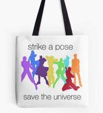 JJBA- Strike a Pose, Save the UNIVERSE!!! Tote Bag