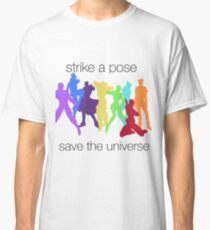 JJBA- Strike a Pose, Save the UNIVERSE!!! Classic T-Shirt