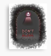 Illuminati Don't Blink Canvas Print
