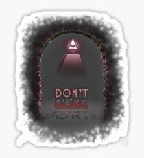 Illuminati Don't Blink Sticker