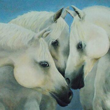 Three Horses by littlegirlbluue