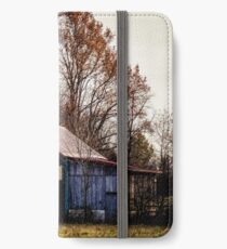 Mail Pouch Tobacco Barn iPhone Wallet/Case/Skin