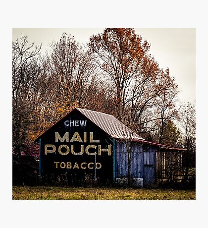 Mail Pouch Tobacco Barn Photographic Print