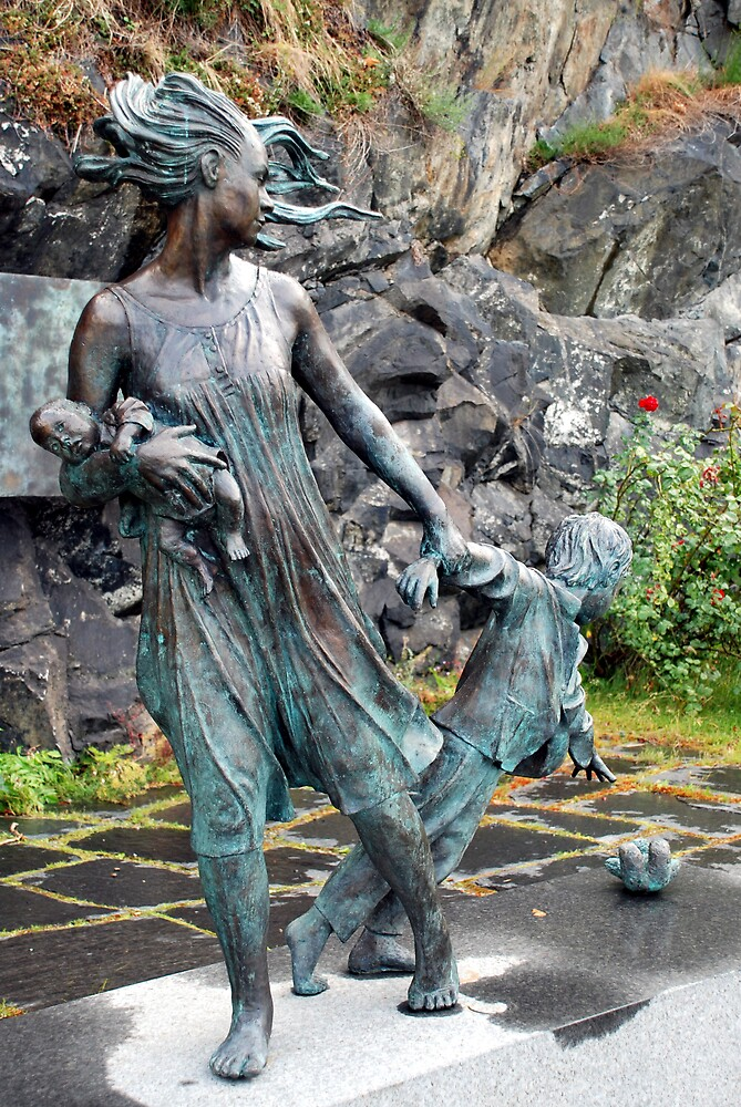 Reaching Child by Angus Russell
