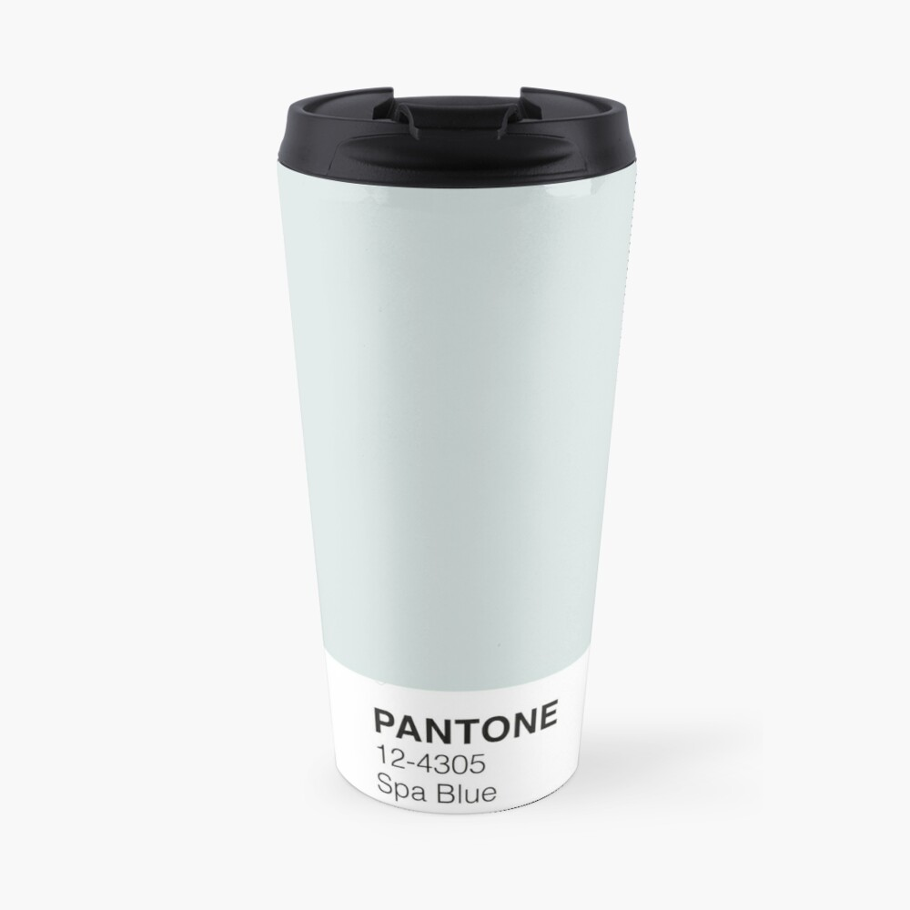 Spa Blau Pantone Thermobecher