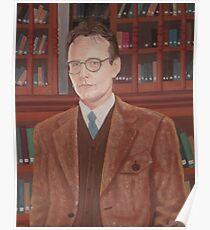 Rupert Giles in his natural habitat Poster