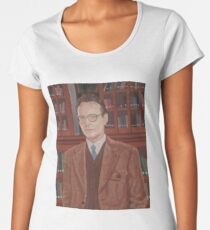 Rupert Giles in his natural habitat Women's Premium T-Shirt