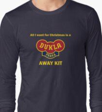 Dukla Prague Away Kit Long Sleeve T-Shirt