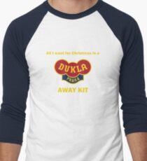 Dukla Prague Away Kit Men's Baseball ¾ T-Shirt