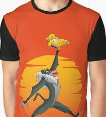 Luftlöwe Grafik T-Shirt